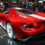 2017 Ford GT rear quarter at the 2015 Dubai Motor Show