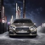 BMW Compact Sedan Concept front press shots