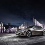 BMW Compact Sedan Concept front quarter press shots