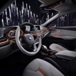 BMW Compact Sedan Concept front three quarter press shots