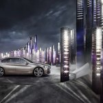 BMW Compact Sedan Concept press shots