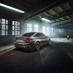 BMW Compact Sedan Concept rear quarter press shots