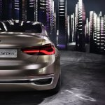 BMW Compact Sedan Concept taillight press shots