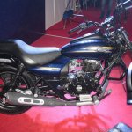 Bajaj Avenger 150 Street right side at APS 2015