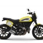 Ducati Scrambler Flat Track Pro side at EICMA 2015