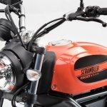 Ducati Scrambler Sixty2 400 head lamp at EICMA 2015