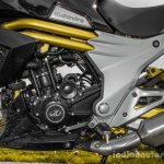 Mahindra Mojo black engine review