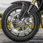 Mahindra Mojo black front disc rotor review