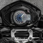 Mahindra Mojo black instrument cluster review