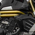 Mahindra Mojo black radiator shroud review