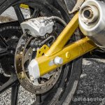 Mahindra Mojo black rear disc rotor review