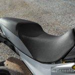 Mahindra Mojo black seat review