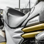 Mahindra Mojo black twin gold tubes review