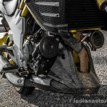 Mahindra Mojo black underbelly cowl review