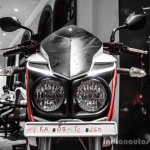 Mahindra Mojo red and white LED DRL review