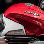 Mahindra Mojo red and white badge review