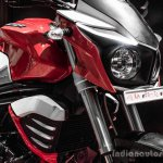 Mahindra Mojo red and white radiator shrouds review