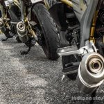 Mahindra Mojo triple exhaust wallpaper