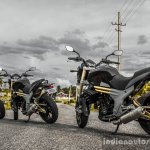 Mahindra Mojo triple rear quarter wallpaper