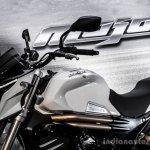 Mahindra Mojo white colour review