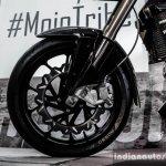 Mahindra Mojo white front disc rotor review