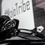 Mahindra Mojo white rear extension review