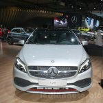 Mercedes A Class facelift front at DIMS 2015