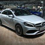Mercedes A Class facelift front quarter at DIMS 2015
