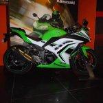 New livery for Kawasaki Ninja 300 side India