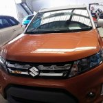 Suzuki Vitara compact SUV front quarter snapped in India