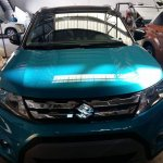 Suzuki Vitara compact SUV front snapped in India