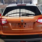 Suzuki Vitara compact SUV rear snapped in India