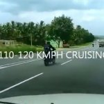 TVS Apache 250 rear spied on NH4