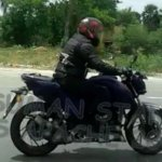 TVS Apache 250 spotted on NH4