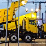 Tata PRIMA 3138.K Coal Tipper side at EXCON 2015