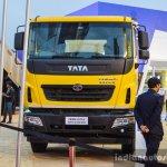 Tata PRIMA LX 2523.K RePTO RMC front at EXCON 2015