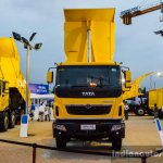 Tata Tippers at EXCON 2015