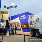 Tata stall at EXCON 2015
