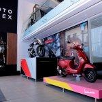 Vespa at Piaggio Motoplex Pune