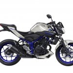 Yamaha MT-03 side unveiled at EICMA 2015
