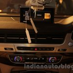 2016 Audi Q7 center console front launched in India