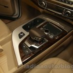 2016 Audi Q7 gear selector launched in India