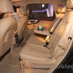 2016 Audi Q7 rear seat launched in India