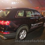 2016 Audi Q7 rear three quarter launched in India