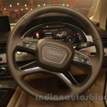 2016 Audi Q7 steering wheel launched in India