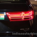 2016 Audi Q7 taillamps launched in India