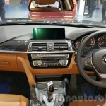 2016 BMW 3 Series dashboard at 2015 Thai Motor Expo