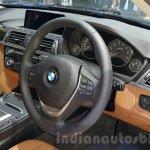 2016 BMW 3 Series driver cabin close at 2015 Thai Motor Expo