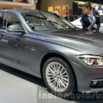 2016 BMW 3 Series front three quarters at 2015 Thai Motor Expo