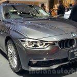2016 BMW 3 Series front three quarters close at 2015 Thai Motor Expo